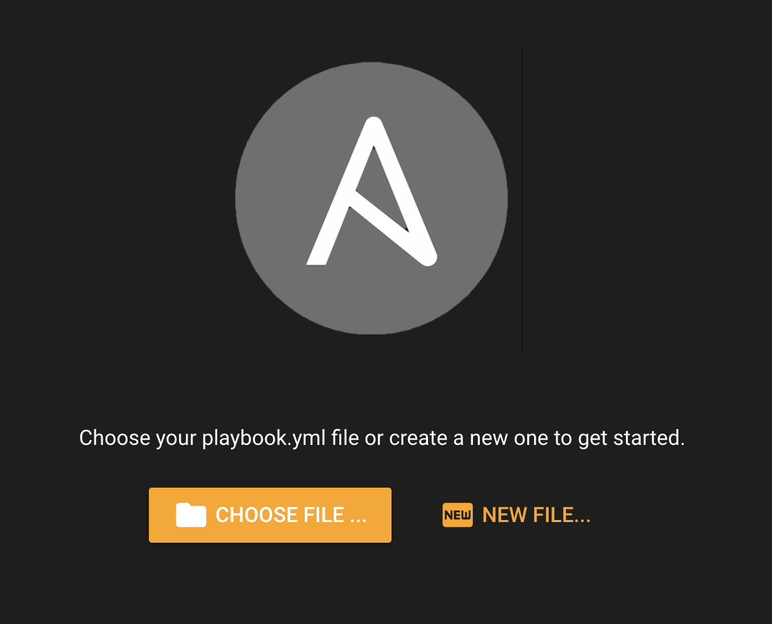 Choose your Ansible file